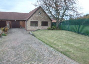 Thumbnail 4 bed bungalow for sale in Stead Lane, Bedlington