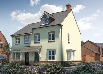 "Thumbnail 3 bed semi-detached house for sale in ""The Chastleton"" at Winchester Road, Fair Oak, Eastleigh"