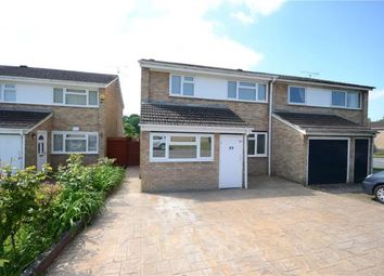 Thumbnail 3 bed semi-detached house for sale in Queensway, Caversham, Reading