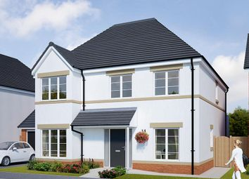 "Thumbnail 4 bed detached house for sale in ""The Tetbury"" at Browney Lane, Browney, Durham"