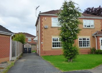 Thumbnail 2 bedroom semi-detached house to rent in Leafe Close, Chilwell, Nottingham
