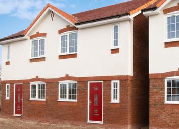Thumbnail 3 bed semi-detached house for sale in Moss Lane, Minshull Vernon, Cheshire