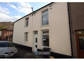 Thumbnail 2 bed end terrace house to rent in Poplar Street, Tydfil