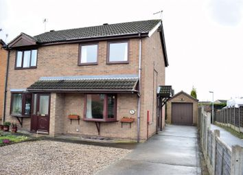 Thumbnail 2 bed semi-detached house for sale in Town Hill, Broughton, Brigg