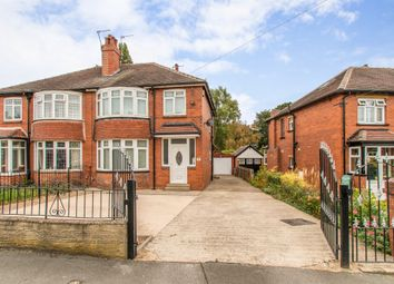 Thumbnail 3 bed semi-detached house for sale in Montagu Crescent, Leeds