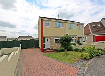 Thumbnail 2 bed semi-detached house for sale in Foel View Close, Llantwit Fardre, Pontypridd