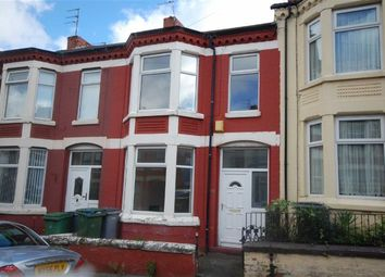 Thumbnail 3 bed terraced house to rent in Riversdale Road, Wallasey, Wirral