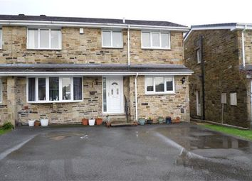 Thumbnail 3 bed semi-detached house for sale in Merlin Court, Netherton, Huddersfield