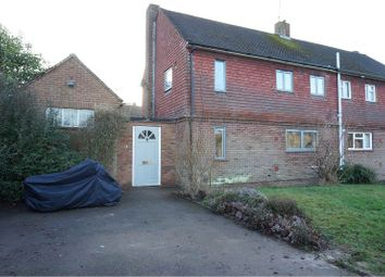 Thumbnail 3 bed semi-detached house for sale in Summervale Road, Tunbridge Wells