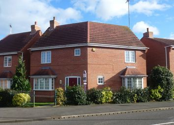 Thumbnail 3 bedroom detached house to rent in Station Road, Castle Donington, Derby