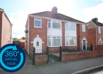 Thumbnail 3 bed semi-detached house for sale in Summerway, Pinhoe, Exeter
