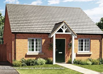 Thumbnail 2 bed semi-detached bungalow for sale in The Woodcote, Heanor Road, Smalley, Ilkeston, Derbyshire