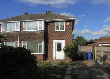Thumbnail 3 bed semi-detached house for sale in Dargle Avenue, Doncaster