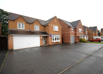 Thumbnail 5 bed detached house for sale in Hampton Close, Coalville