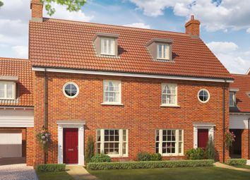 Thumbnail 4 bedroom semi-detached house for sale in Silfield Road, Wymondham