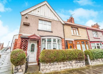 Thumbnail 2 bedroom end terrace house for sale in Colwyn Road, Hartlepool