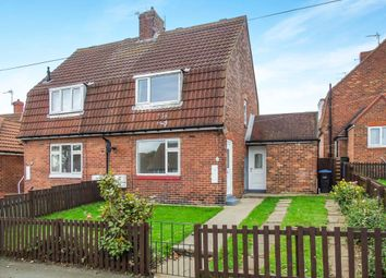 Thumbnail 2 bed semi-detached house for sale in Laburnum Crescent, Easington, Peterlee
