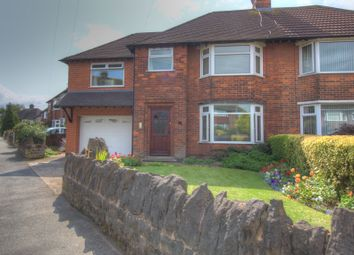 Thumbnail 4 bed semi-detached house for sale in Hadbury Road, Nottingham
