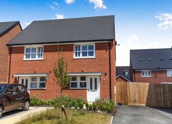 Thumbnail 2 bed semi-detached house for sale in Heddle Road, Andover