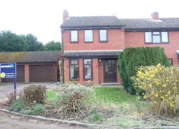 Thumbnail 2 bed end terrace house to rent in Portway, Riseley, Reading
