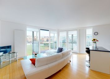 Thumbnail 3 bed flat to rent in West Parkside, Greenwich, London
