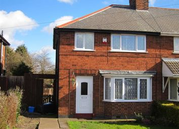 Thumbnail 3 bedroom semi-detached house to rent in Nottingham Road, Hucknall, Nottingham