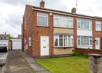 Thumbnail 3 bed semi-detached house for sale in Whitethorn Close, York