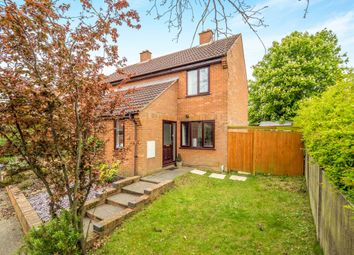 Thumbnail 2 bedroom semi-detached house for sale in Irwin Close, Reepham, Norwich