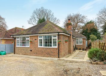 Thumbnail 3 bed detached bungalow for sale in Newtown, Tadley