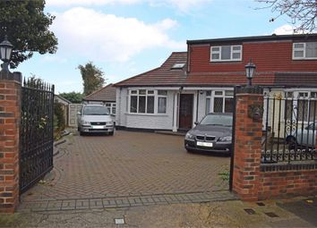 Thumbnail 5 bed semi-detached bungalow for sale in Belmont Avenue, Upminster, Essex