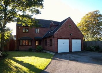 Thumbnail 4 bed detached house to rent in All Hallows Close, Retford