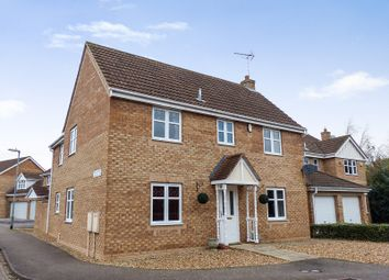 Thumbnail 4 bed detached house for sale in Ford Close, Yaxley, Peterborough