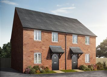 "Thumbnail 3 bed semi-detached house for sale in ""The Avenham"" at Biddenham Turn, Biddenham, Bedford"
