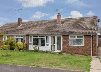 Thumbnail 3 bed semi-detached bungalow for sale in Stockerston Crescent, Uppingham, Oakham
