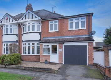 Thumbnail 5 bed semi-detached house for sale in Howard Road, Glen Parva, Leicester