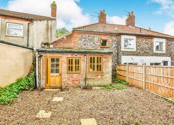 Thumbnail 3 bedroom terraced house for sale in Lynn Street, Swaffham