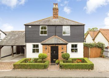 Thumbnail 3 bed detached house for sale in Church Road, Rawreth, Wickford, Essex