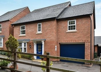 Thumbnail 4 bed detached house to rent in Flora Lane, Measham, Swadlincote
