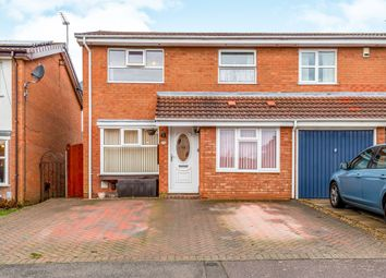 Thumbnail 3 bed semi-detached house for sale in Shedfield Way, Northampton