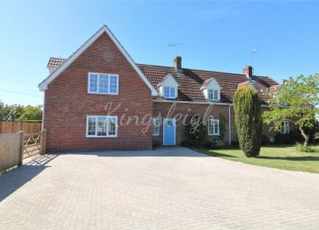Thumbnail 4 bed semi-detached house for sale in Harwich Road, Lawford, Manningtree, Essex