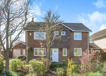 Thumbnail 3 bed detached house for sale in Delamere Park Way West, Cuddington, Northwich