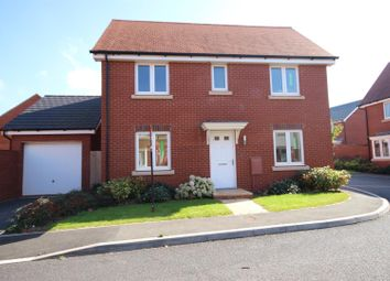 Thumbnail 3 bed detached house for sale in Pitt Park, Cranbrook, Exeter