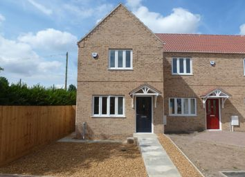 Thumbnail 3 bedroom end terrace house to rent in Timber Yard Gardens, Osborne Road, Wisbech