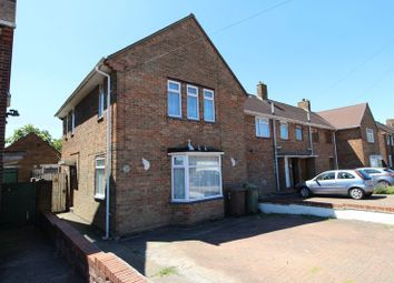Thumbnail 3 bedroom end terrace house for sale in Abbotswood Road, Luton