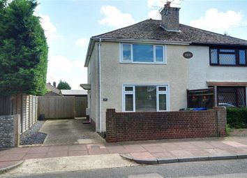 Thumbnail 2 bed semi-detached house for sale in Stone Lane, Salvington, Worthing, West Sussex