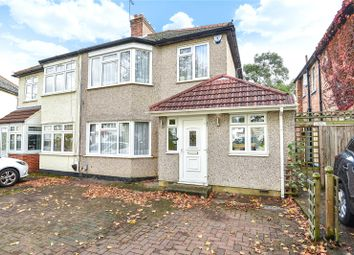 Thumbnail 3 bed semi-detached house for sale in Hooking Green, Harrow, Middlesex