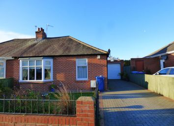Thumbnail 2 bed semi-detached bungalow for sale in Ivy Road, Walkerville, Newcastle Upon Tyne