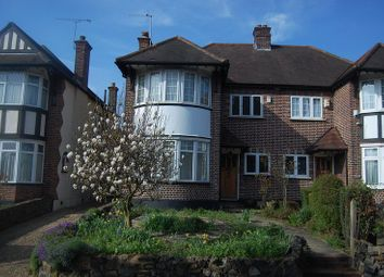 Thumbnail 3 bed semi-detached house to rent in High Road, London