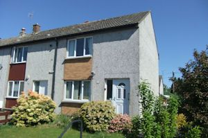 Thumbnail 2 bed semi-detached house for sale in Dinmont Avenue, Dumfries