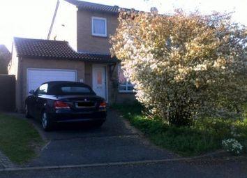 Thumbnail 3 bed semi-detached house to rent in Corelli Road, Old Hatch Warren, Basingstoke